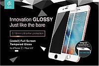 Стекло защитное iPhone 7 5,5 Devia Jade 2 white