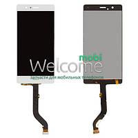 Дисплей (экран) + сенсор (тач скрин) Huawei P9, G9 Lite Dual Sim white (оригинал)