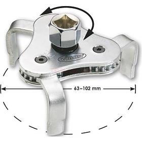 Съемник масляного фильтра 63-102 мм, Vigor, V1281