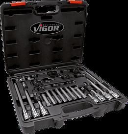 Набор инструментов для снятия и установки генератора, 29шт., VIGOR, V2835