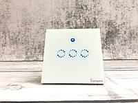 Wi-Fi Выключатель. Трехклавишный сенсорный выключатель света Sonoff T1