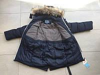 Куртка зимняя, полупальто на мальчика 104-128 см, возраст 5, 6, 7, 8, 9 лет.