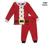 "Пижама ""Санта"" для мальчика. 100 см"