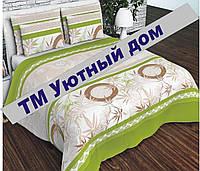 Комплект постельного белья Полуторный, бязь 100% хлопок, Медальён