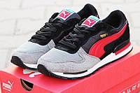 Кроссовки Puma RX727, серо чёрные