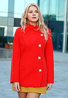 Пальто короткое с поясом классика