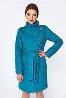 Пальто шерсть женское с поясом