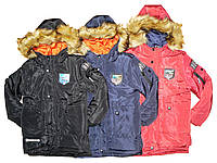 Куртки зимние на меху на мальчика, размер 4-12, Grace, арт. 71662, фото 1