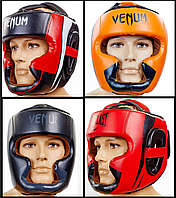 Шлем боксерский с полной защитой FLEX VENUM ELIT (р-р M-XL)