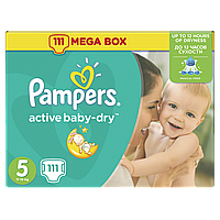 Подгузники Pampers Active Baby Junior 5 (11-18 кг) Mega Box 110 шт.