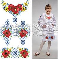Заготовка для вишивання плаття дитячого (на 5-12 років) на НАТУРАЛЬНІЙ  тканині 0a390b7d681a2