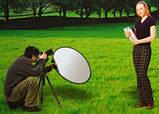Рефлектор Відбивач MASSA 7 в 1 (92х122 см) овальної форми, фото 5