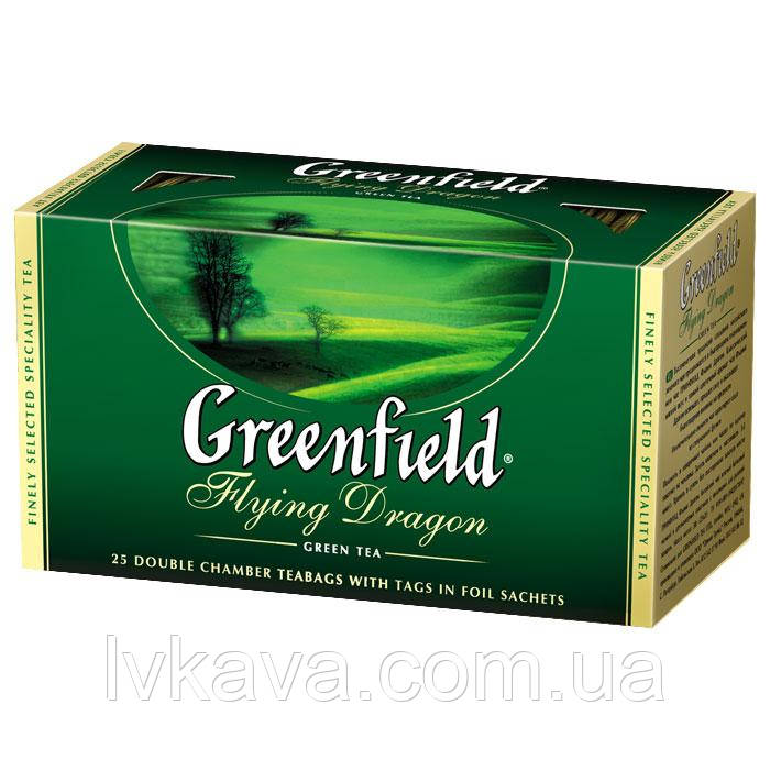 Чай зеленый  Flying Dragon  Greenfield, 25 пак