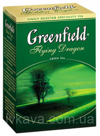 Чай зеленый  Flying Dragon  Greenfield, 100 гр, фото 2