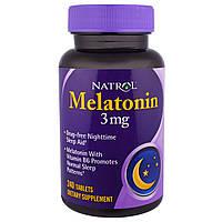 Natrol, Мелатонин, 3 мг, 240 таблеток