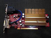 ВИДЕОКАРТА Pci-E MSI Nvdia GeForce 7300 SE TC на 256 MB с ГАРАНТИЕЙ ( видеоадаптер 7300se 256mb  )