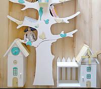 Мебель в детскую комнату из дерева,фанеры.