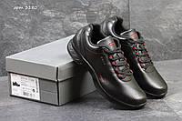 Кроссовки Ecco biom , чёрные с красным