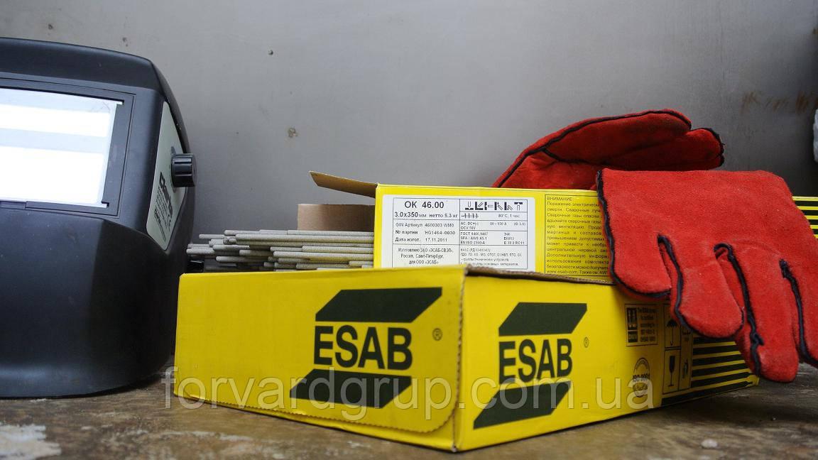 Зварювальні електроди ОК 61.30 (AWS E308L-17) 4.0 мм