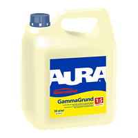 Aura GammaGrund Укрепляющая грунтовка глубокого проникновения для внутренних и наружных работ 3 л