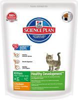 Hills Science Plan Kitten Heatly Development Chicken Сухой корм для котят с курицей