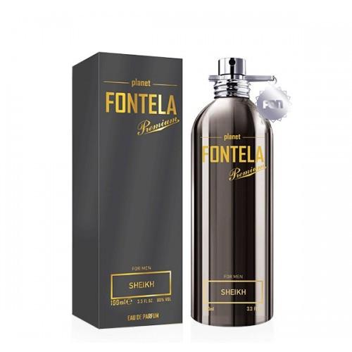 Мужская парфюмированная вода Fon cosmetics Fontela SHEIKH 100 мл (3541082)