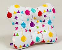 Детская подушка ортопедическая бабочка BabySoon Праздник