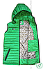 Жилет зеленый с капюшоном Activsport, фото 3