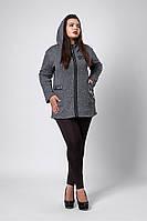 Кардиган мод №288, размеры 50-52,54-56,58-60 серый