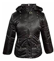 Куртка демисезонная. Цвет - черный, коричневый, темно зеленый, красный. Есть тонкий слой синтепона. Размеры L