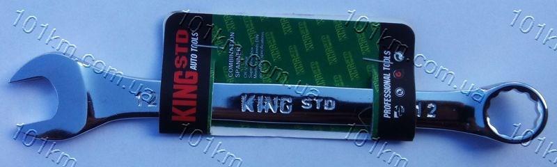 Ключ рожково-накидной King STD 12мм