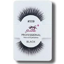 SA Ресницы цельные Shilina Professional Natural Eyelashes Black 509 прямые скрещенные d-10мм