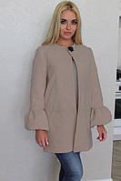 Женское полу-пальто на подкладке