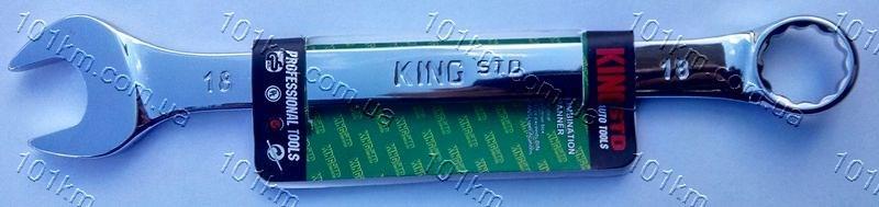 Ключ рожково-накидной King STD 18мм