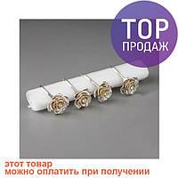 Кольца для салфеток розы / свадебные  аксессуары