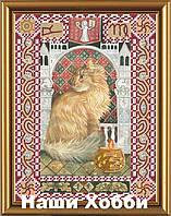 """Набор для вышивания бисером НК4091 """"Кот из созвездия Дева"""""""