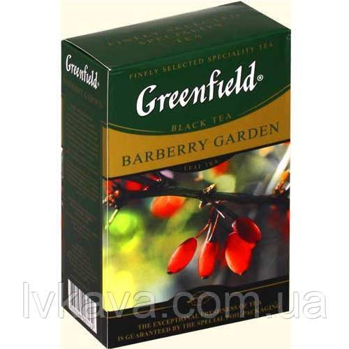 Чай черный Barberry Garden  Greenfield, 100 гр