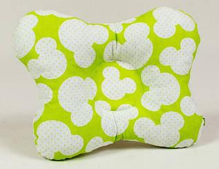 Ортопедическая подушка для новорожденных BabySoon Яркий Микки