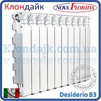 Алюминиевый радиатор Nova Florida Desiderio B3 500*100 (Италия)