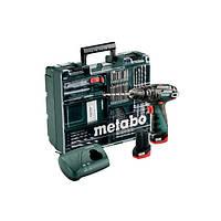 Ударный дрель-шуруповерт Metabo PowerMaxx BS Basic (2 аккумулятора, набор принадлежностей, кейс)