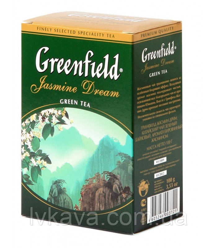 Чай зеленый  Jasmine Dream  Greenfield, 100 гр