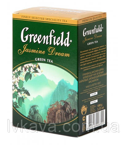 Чай зеленый  Jasmine Dream  Greenfield, 100 гр, фото 2