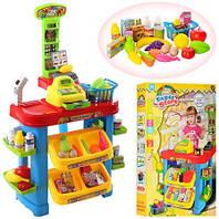 Игровой набор Магазин супермаркет 922-02. Сканер. Весы. Свет, звук