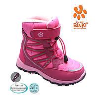 Терма-ботинки для девочек оптом 2045D (8пар 28-33