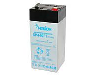 Батарея для ИБП 4В 4Ач Merlion / GP44M1 / ШхДхВ 48х48х100 / Q30