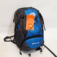 Спортивный рюкзак The North face 30 л серо синий