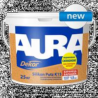 Aura Dekor Silikon Putz K15 Структурная штукатурка, модифицированная силиконом «барашек» , зерно 1,5 мм
