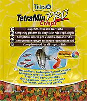 Корм для всех видов рыб ТetraMIN Crisps 12 г чипсы