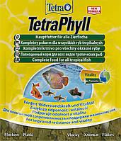 Корм для тропических рыб Тetra PHYLL 12 г хлопья
