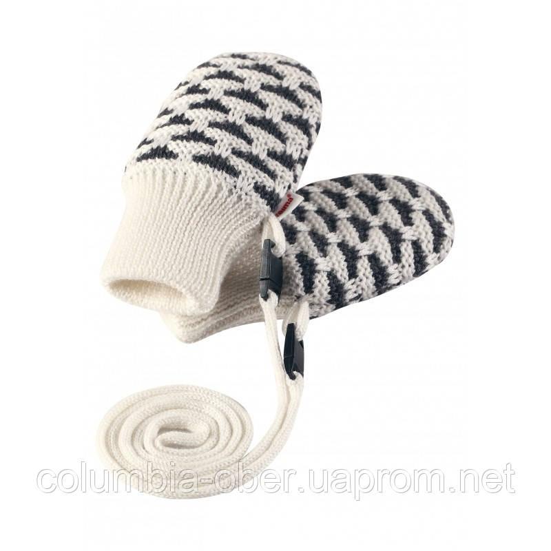 Зимние варежки для девочки Reima Uninen 517152-0110. Размеры 0-1.